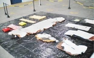 De nombreux débris de l'appareil ont été retrouvés dans l'océan Atlantique.
