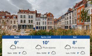 Météo Lille: Prévisions du vendredi 8 février 2019