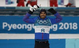 Martin Fourcade a remporté la poursuite hommes des JO 2018, lundi