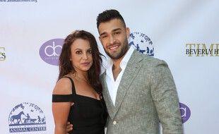 La chanteuse Britney Spears et son petit ami Sam Asghari