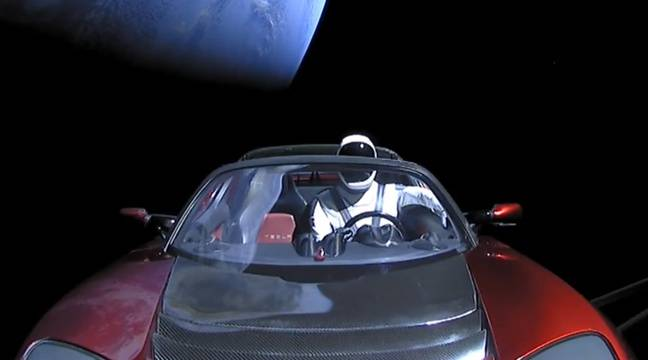 video lancement du falcon heavy de spacex le gros coup m diatique d 39 elon musk. Black Bedroom Furniture Sets. Home Design Ideas