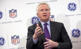 Le patron de General Electric, Jeff Immelt, le 11 mars 2013 à New York