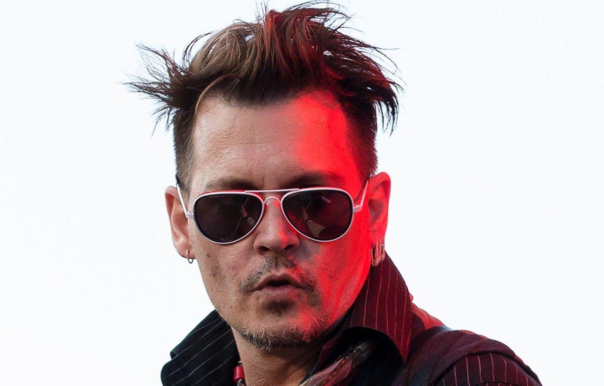 Johnny Depp en concert avec les Hollywood Vampires at Grona Lund – Emelie Andersson/WENN.com