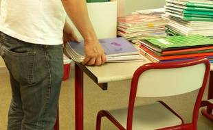 Le garçon est revenu au collège armé d'un couteau et a menacé des membre du personnel. Illustration.
