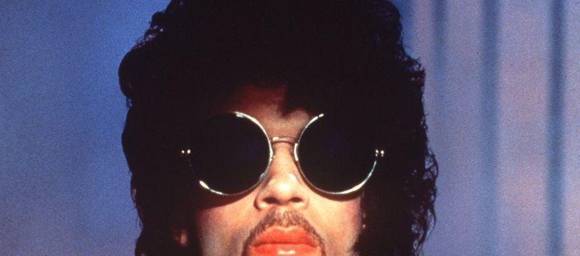 Prince en février 1985 à Paris.