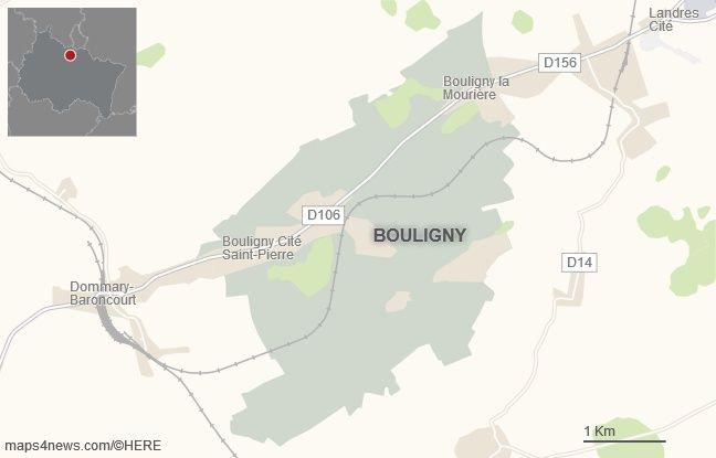 La commune de Bouligny, dans la Meuse.