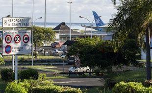 L'aéroport de Tahiti, en Polynésie française, en mai.