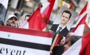 Le régime syrien a insisté jeudi sur le fait que personne ne pouvait empêcher le président Bachar al-Assad d'être candidat à l'élection présidentielle de 2014.
