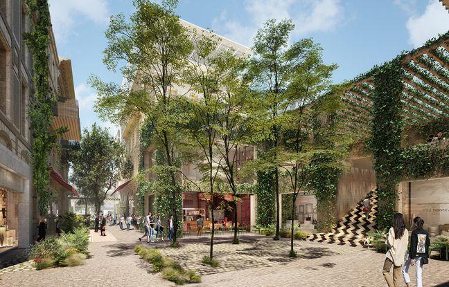 Le projet de Rue Bordelaise a déjà évolué depuis sa première mouture de 2015, avec moins de galeries et davantage de verdure.