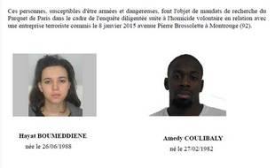 L'appel à témoins diffusé ce vendredi par la Préfecture de police de Paris