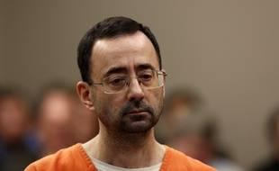 Larry Nassar, ex-médecin de l'équipe des Etats-Unis de gymnastique, a plaidé coupable d'abus sexuels, le 22 novembre 2017.