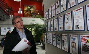 Olivier Fry, président de Bordeaux Unitec