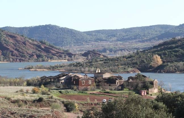 La commune de Celles, au bord du lac du Salagou, a l'habitude de refuser la fatalité.