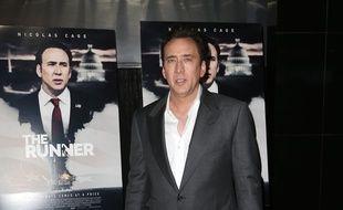 L'acteur Nicolas Cage à Hollywood