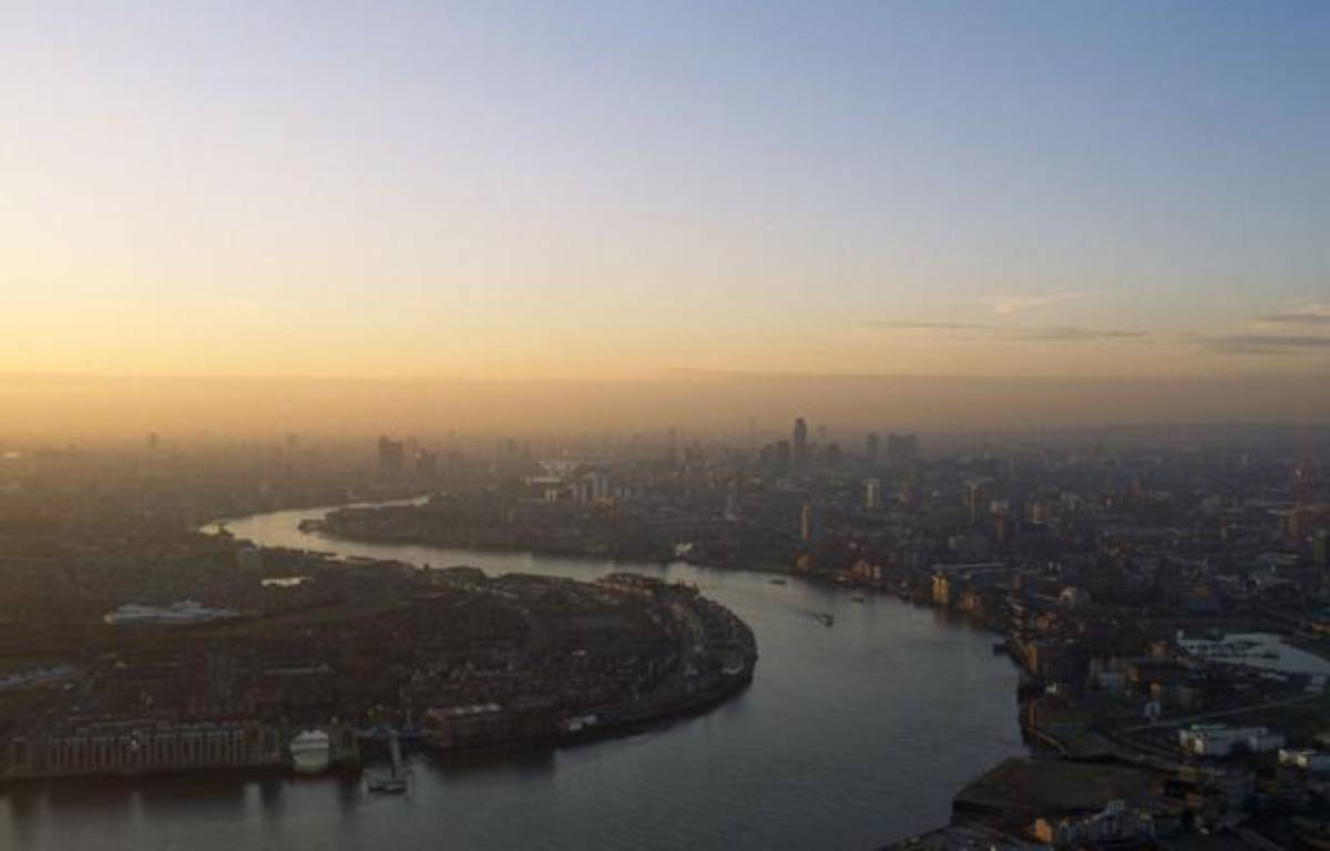 Vue de Londres dans un nuage de pollution. – Eye Ubiquitous / Rex Fe/REX/SIPA