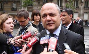 Le chef des députés socialistes Bruno Le Roux, le 16 mai 2013.
