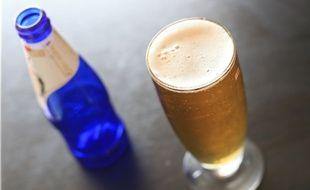 Boissons alcolisees. Verre de biere.