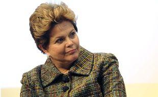 La présidente brésilienne Dilma Rousseff à Paris, en décembre 2012.