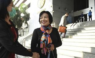 Ancha, une Thaïlandaise, a été condamnée à 43 ans de prison pour lèse-majesté en janvier 2021.