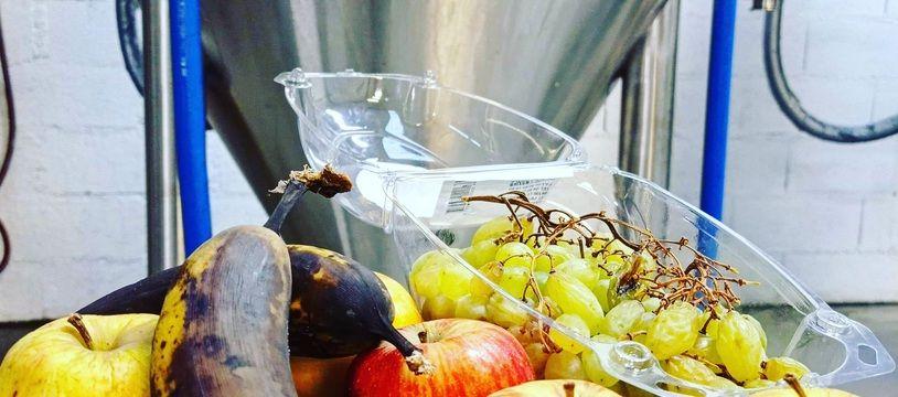 Jusqu'au 16 novembre, la brasserie Ice Breaker Brewing récolte les fruits abîmés pour créer une bière aux fruits.