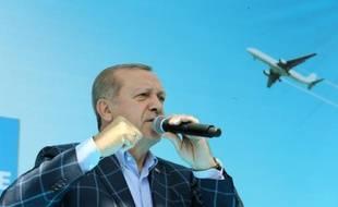 Le président turc Recep Tayyip Erdogan à Diyarbakir, le 28 mai 2016