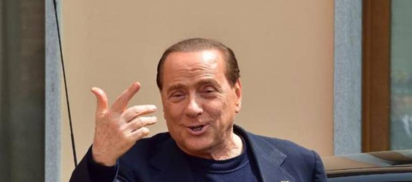 L'ex-Premier ministre italien Silvio Berlusconi, le 9 mai 2014 à Cesano Boscone, en Italie.
