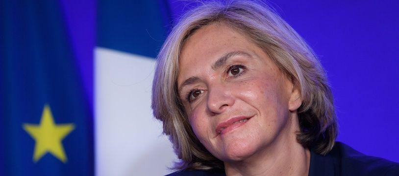 Valérie Pécresse, le 21/10/2021 à Paris.