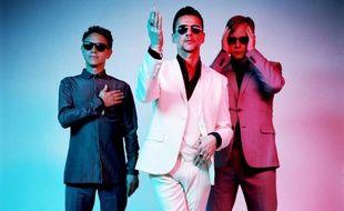 Depeche Mode, c'est Martin Gore, Dave Gahan et Andy Fletcher.