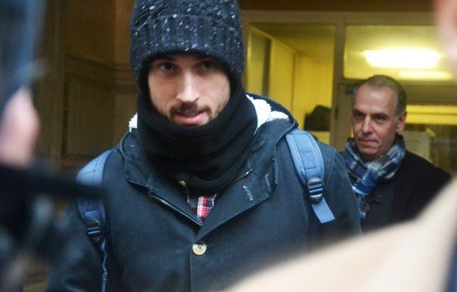 Samuel Honrubia, à sa sortie du tribunal, ce lundi.