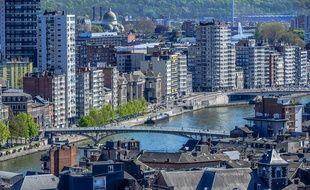 La ville de Liège, en Belgique (illustration).