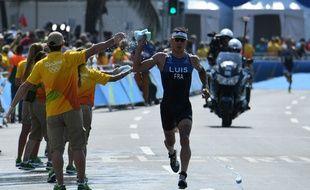 Vincent Luis lors du triathlon de Rio, le 18 août 2016