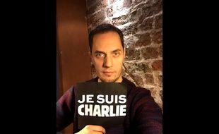 Grand Corps Malade a écrit une chanson à la suite de l'attentat contre «Charlie Hebdo».