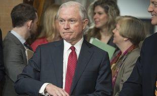 Jeff Sessions, ici à Washington le 2 février 2017, est le nouveau ministre de la Justice de Donald Trump.