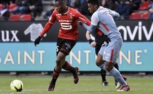 L'attaquant sénégalais Diafra Sakho n'a pas trouvé le chemin des filets avec Rennes depuis le 17 février.