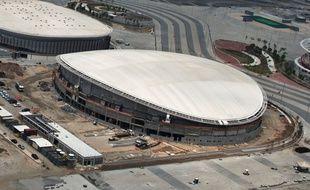 Le vélodrome des Jeux olympiques de Rio en février 2016.