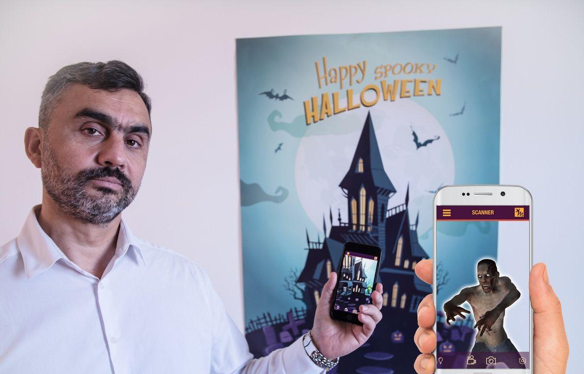 Christian Ruiz, le PDG de la société Artech, spécialisée dans la réalité augmentée. – Artech