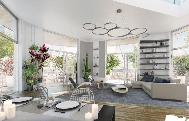 Un exemple d'intérieur pour les logements de la Higher Roch.