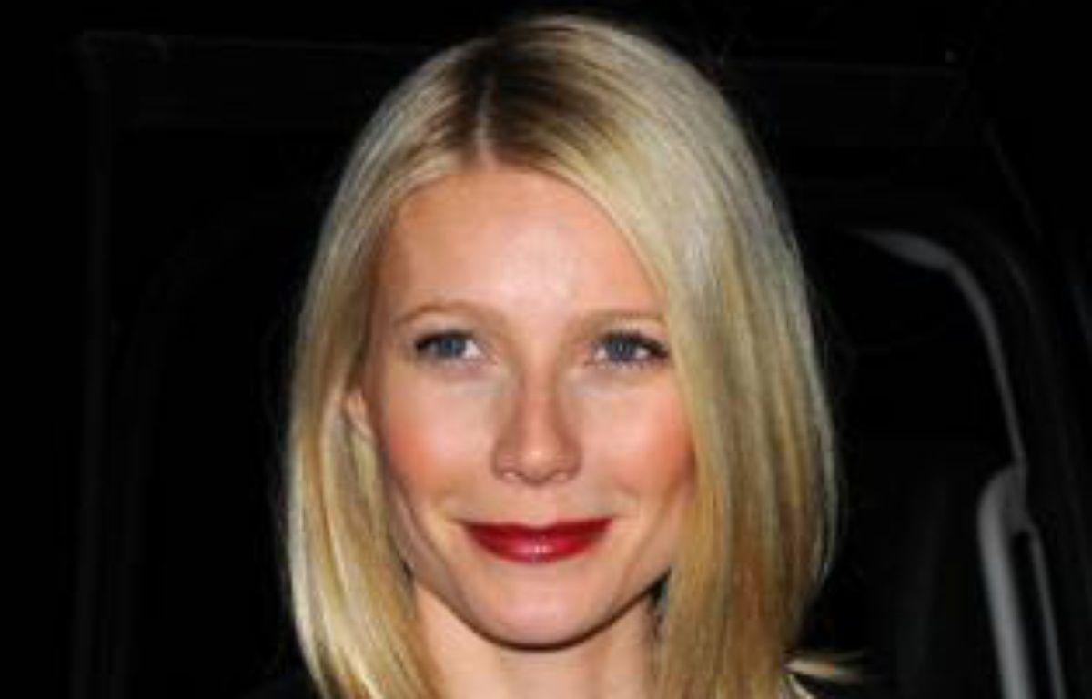 Gwyneth Paltrow, à New York, en février 2009 – ZAK BRIAN/SIPA