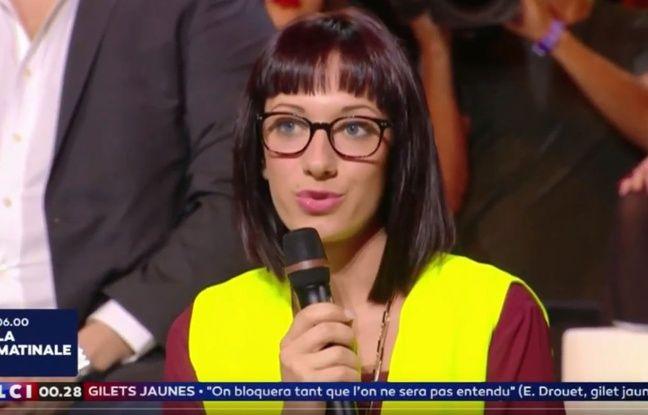Marine Charrette-Labadie, porte-parole des « gilets jaunes »