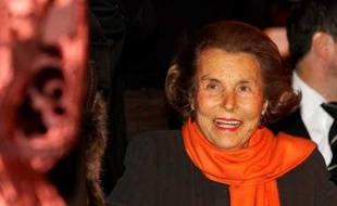 Liliane Bettencourt à Paris en mars 2011.