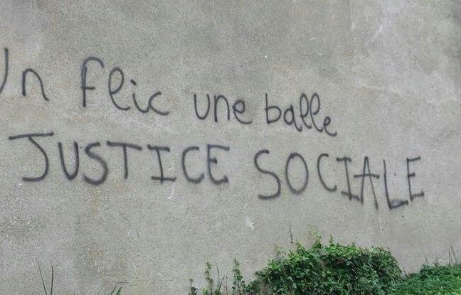 Rennes: Un tag hostile à la police découvert sur les murs de Sciences Po