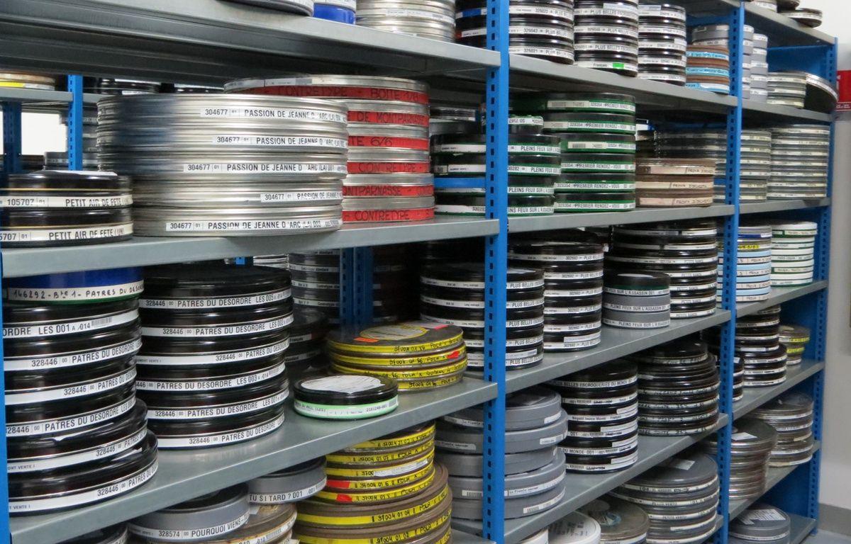 Les bobines des films sont conservés sous bonne garde. – C.Guthleben/20 Minutes