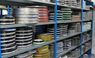 Les bobines des films sont conservés sous bonne garde.