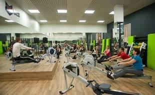 VIDEO. Strasbourg: Un sport qui mêle aviron et fitness, pour être affûté en maillot cet été. (Illustration)