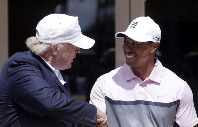 Donald Trump va décorer Tiger Woods de la plus haute distinction américaine