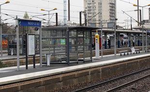 La gare de Noisy-le-Sec en Seine-Saint-Denis.