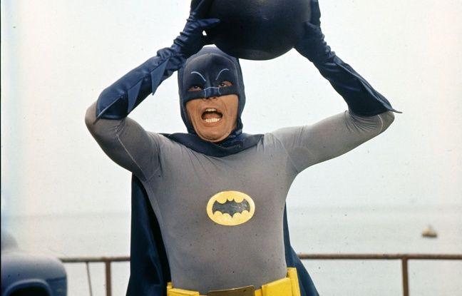 Adam West dans la série Batman.