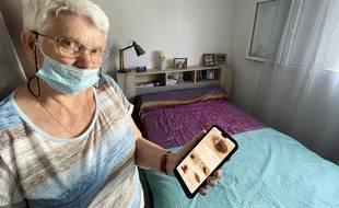 Cette habitante du quartier Bon-Voyage, à l'est de Nice, a dû faire désinsectiser sa chambre pour éliminer les nuisibles