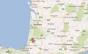 Google map de Dax.