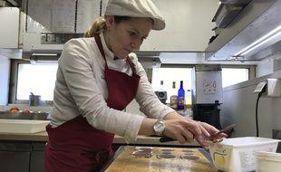 Fanny Aimerito, désormais responsable patisserie au restaurant Une Table au Sud à Marseille.